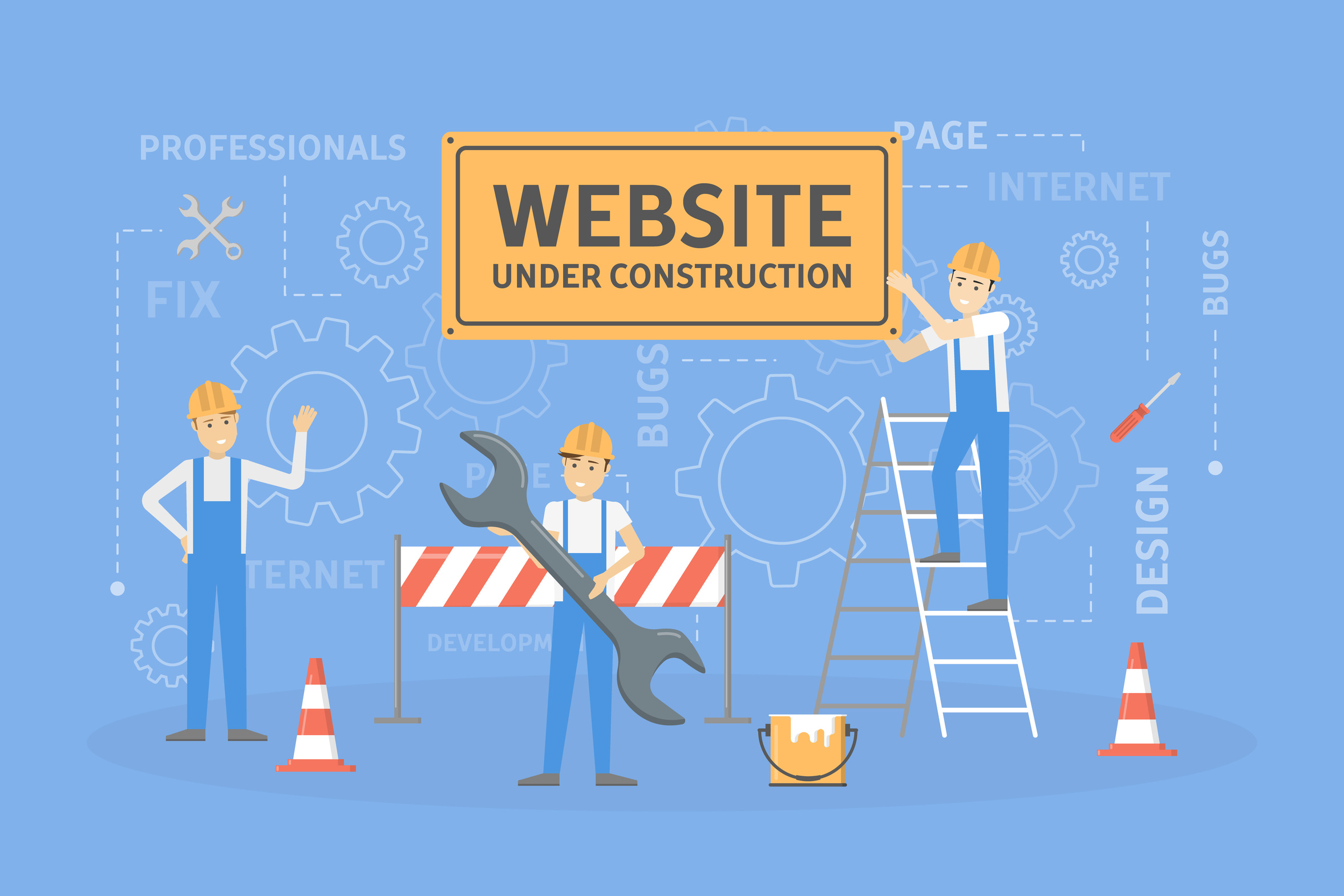 web HF underconstruction