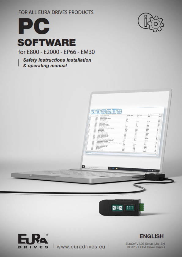 EN - PC Software for all EURA Drives products